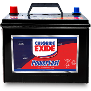 oriel chloride exide powerlast battery